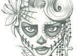 Drawing Easy Skeleton Sugar Skull Lady Drawing Sugar Skull Two by Leelab On Deviantart