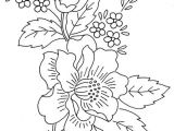 Drawing Embroidery Flowers Flower Spray 1 Patterns Embroidery Embroidery Patterns Flowers