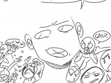Drawing Eye Meme Croxovergoddess Draw the Squad or Tag Yourself I M butt Gasp
