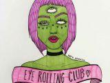 Drawing Eye Roll Eye Rolling Club D D D Space Girl A In 2019 Drawings Art Art