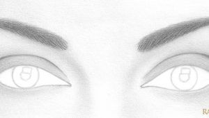 Drawing Eye Step by Step Easy How to Draw A Pair Of Realistic Eyes Rapidfireart