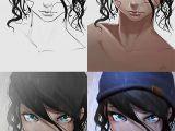 Drawing Eyes Cartoon Girl Steps Process Portrait Animegirl Anime Manga Rain Cute