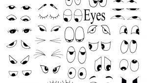 Drawing Eyes Clipart Drawing Helps for Eyes Mouths Faces and More Party Matthew