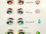 Drawing Eyes Cool Vampire Fairy Mermaid Elf Eye Art Art Pinterest Drawings Art
