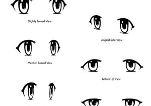 Drawing Eyes Different Angles Anime Eyes Drawn From Different Angles Drawing Tipsa A Official