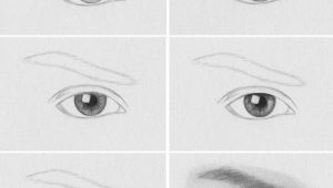 Drawing Eyes Eyebrows How to Draw A Realistic Eye Art Drawings Realistic Drawings
