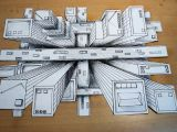 Drawing Eyes In Perspective How to Draw One Point Perspective 3d Illusion High Rise
