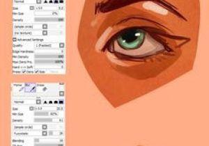 Drawing Eyes Paint tool Sai Paint tool Sai Brush Settings by Vit4l Tutorials Paint tool