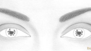 Drawing Eyes Shapes How to Draw A Pair Of Realistic Eyes Rapidfireart