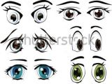 Drawing Eyes Symmetrical the Complete Set Of the Drawn Eyes by Liusa Via Shutterstock