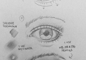 Drawing Eyes that Follow You How to Draw An Eye 25 Best Tutorials to Follow Art Pinterest