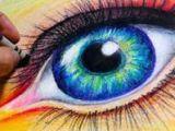 Drawing Eyes Using Oil Pastels 500 Best Crayon Oil Pastels Images Pastel Drawing Oil Pastel