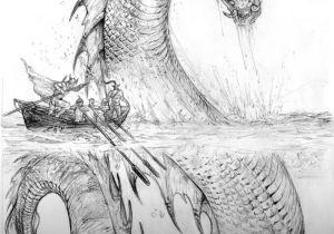 Drawing Fantasy Dragons Palladium Fantasy Jormund Serpent by Chuckwalton Deviantart Com On