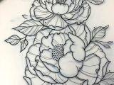 Drawing Flower Gun A Tattoo Pinte