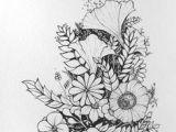 Drawing Flowers From the Side 1412 Nejlepa A Ch Obrazka Z Nasta Nky Flower Drawings Drawings