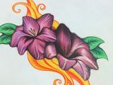 Drawing Flowers In Colored Pencils Color Pencil Drawings Pencil Drawings Drawings Colored Pencils