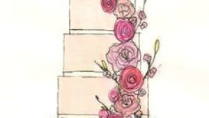 Drawing Flowers On Cake 31 Best Wedding Cake Sketches Images Cake Sketch Wedding Cake