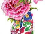 Drawing Flowers On Shoes Dozens Of Chic Shoes Illustration Pieces Pinterest Illustrations