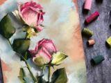 Drawing Flowers Pastels Oil Pastel Paintings Oil Pastels Flower Valentine Rose Eric