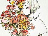 Drawing Flowers Personality Maruti Bitamin M A R U T I B I T A M I N Drawings Art