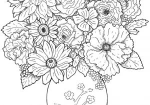 Drawing Flowers Pic Www Colouring Pages Aua Ergewohnliche Cool Vases Flower Vase Coloring