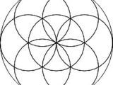 Drawing Flowers Using Geometric Shapes Flower Of Life Sacred Geometry