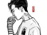 Drawing G Dragon 533 Best Yg Fanart Images Drawings Kpop Fanart Big Bang Kpop