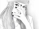 Drawing Girl Dabbing Pin by Mbasini Sagnia On Drawing Drawings Tumblr Outline Art