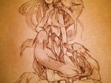 Drawing Girl Deer Chiara Bautista Deer Girl Wolves the Heartbreak totally Wicked