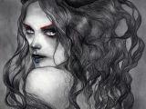 Drawing Girl Demon the Devil In Love by Jel Ena Medusainfurs On Deviantart Fantasy