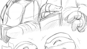 Drawing Girl Ninja Just A Pineapple Tmnt Pinterest Tmnt Ninja Turtles and