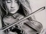 Drawing Girl Playing Violin Learn How to Play the Violin Learntoplayviolin Howtoplayviolin