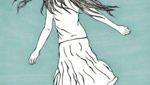 Drawing Girl Running Girl Running Girl Art Prints Art Wall Art Decor