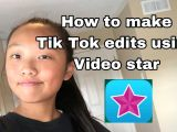 Drawing Girl Tik tok How to Make Tik tok Edits Using Video Star for Free Youtube