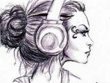 Drawing Girl with Headphones Headphones Tumblr Draw Drawings Art Drawings I Tumblr Drawings