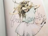 Drawing Girl with Sunglasses Art Deer Drawing Fashion Fashion Illustration Free People Girl
