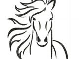 Drawing H Colour Horse Sketch Machine Embroidery Designs Applique Embroidery Design