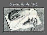 Drawing Hands 1948 Art Lit James Templeton M C Escher