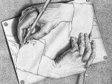 Drawing Hands Artist Drawing Hands Mc Escher Art In the World Around Us In 2018