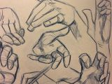 Drawing Hands Beginners 100 Drawings Of Hands Quick Sketches Hand Studies