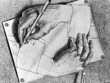 Drawing Hands by Escher 2 M C Escher S Drawing Hands A C 2009 the M C Escher Company