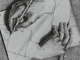 Drawing Hands Escher 1948 Pdf Evolving Scientific Paradigms Retrospective and Prospective