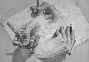 Drawing Hands Mc Hand Drawn Portraits by oriol Angrill Jorda Art Art Drawings