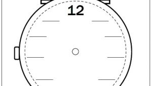 Drawing Hands On A Clock Worksheet Analogue Clock Worksheets Clock Template with Hands New Clock Clock