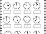 Drawing Hands On A Clock Year 2 11 Best Free Clock Coloring Sheets Images Clock for Kids Clock