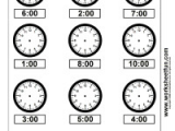 Drawing Hands On A Clock Year 2 Time Draw Hands On the Clock Face 4 Worksheets Teaching Math