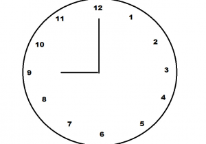 Drawing Hands On Clock Half Past How to Find the Distance Between Clock Hands Basic Geometry