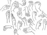 Drawing Hands Poses 23 Best Hands Actions Images Sketches Drawing Tips Drawings