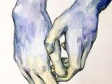 Drawing Hands with Pastels Nude Pastels