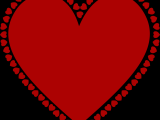Drawing Heart Gif Clipart Frame Of Hearts A Hearts A Heart Heart Frame Frame